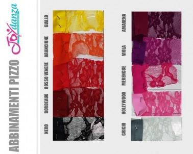 Pizzo merletto elastico Colori e Tessuti Elastici per corpo