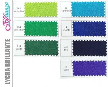 Lycra brillante Colori e Tessuti Elastici per corpo