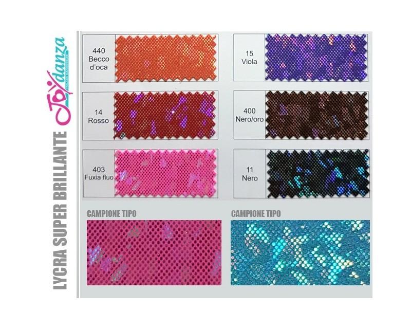 Lycra super brillante Colori e Tessuti Elastici per corpo