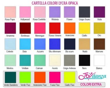 Lycra Opaca Colori e Tessuti Elastici per corpo