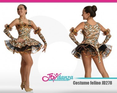 Costume moderna felino Danza Moderna Costumi moderna e musical