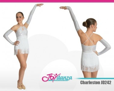 Costume charleston Danza Moderna Costumi moderna e musical Latino e Caraibico