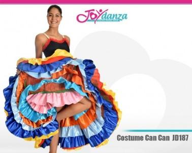 Costume Can Can Danza Moderna Costumi moderna e musical