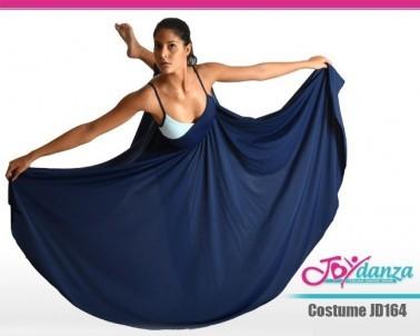 Abito danza moderna gonna lunga Danza Moderna Costumi moderna e musical Danza Contemporanea