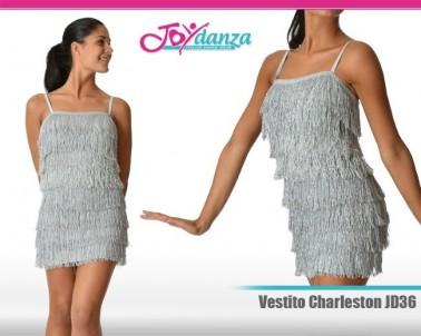 Vestito con frange a tubo Danza Moderna Costumi moderna e musical Latino e Caraibico