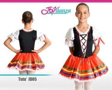 Tutu tarantella Costumi Danza Classica Tutu per bambina