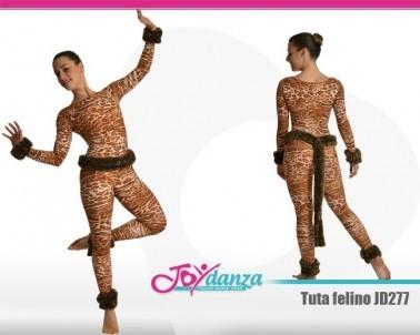Tuta leopardo Danza Moderna Tute accademiche