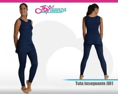 Divisa insegnante smanicato Abbigliamento Danza Gonne leggings & top