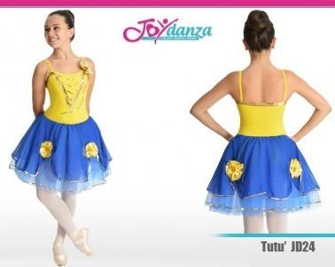 Tutu Degas con fiori Costumi Danza Classica Tutu degas