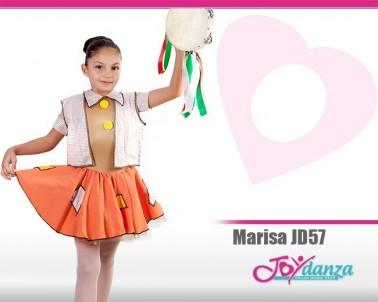 Costume Scugnizza Costumi Danza Classica Tutu per bambina