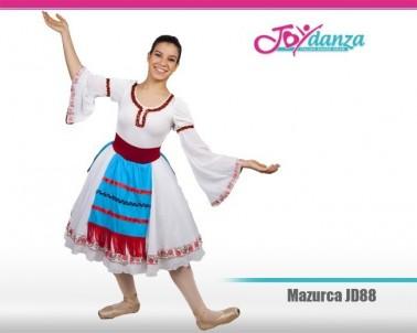 Costume Mazurka di Coppelia Costumi Danza Classica Costumi repertorio