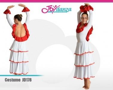 Vestito Flamenco Costumi Danza Classica Danza Moderna Latino e Caraibico Costumi repertorio