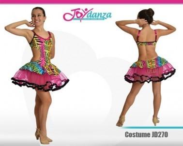 Tutu Moderno Tigrato Danza Moderna Costumi moderna e musical