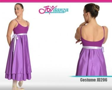 Costume con gonna in raso Costumi Danza Classica Costumi repertorio