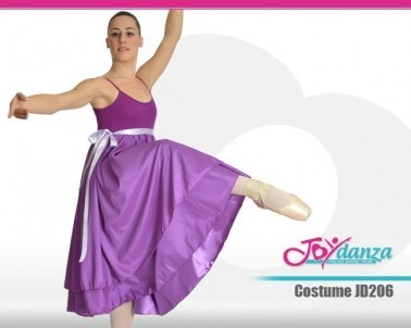 Costume con gonna in raso Costumi Danza Classica Costumi repertorio