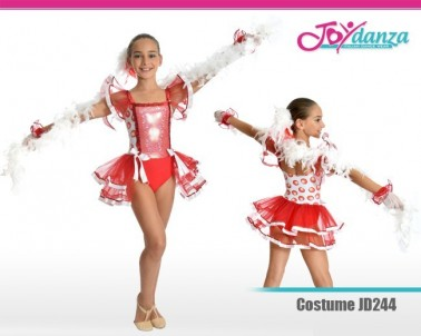 Costume Bambina Moderna Danza Moderna Costumi moderna e musical