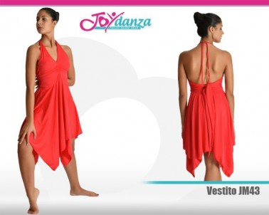 Vestito con gonna contemporanea