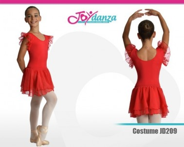 Costume con gonna removibile Costumi Danza Classica Tutu per bambina