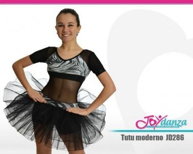 Tutu con rete trasparente Danza Moderna Costumi moderna e musical