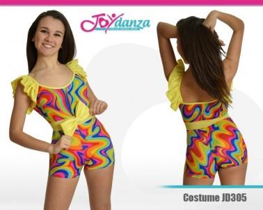 Vestito danza Modern Rainbow Danza Moderna Costumi moderna e musical