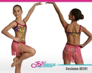 Costume Moderno gonna a frange Danza Moderna Costumi moderna e musical