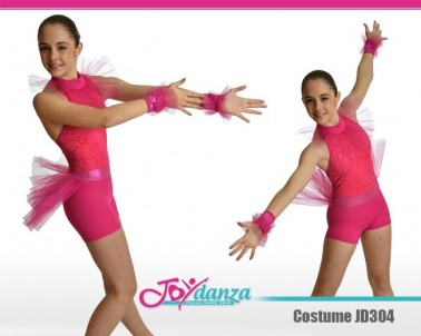 Body Tulle Danza Moderna Costumi moderna e musical