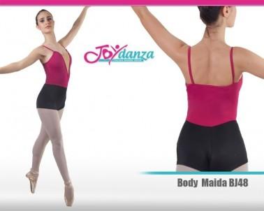 Divisa da danza moderna a pantaloncino, un misto tra body e tuta