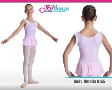 Body Danza Rosa Bambina