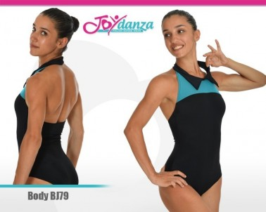 Body Colletto a Camicia Abbigliamento Danza Body danza adulti