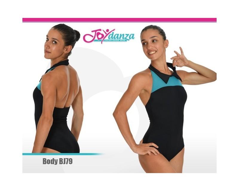 Body Colletto a Camicia Abbigliamento Danza Body danza adulti