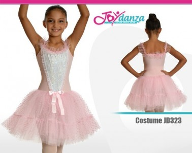 Tutu lungo pietre preziose Costumi Danza Classica Tutu per bambina