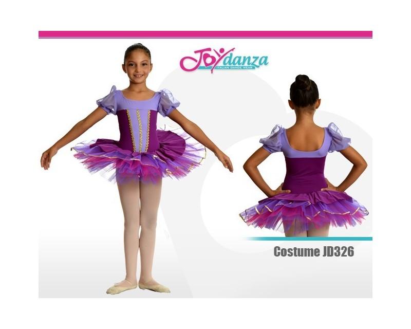 Tutu Bambina Viola Costumi Danza Classica Tutu per bambina