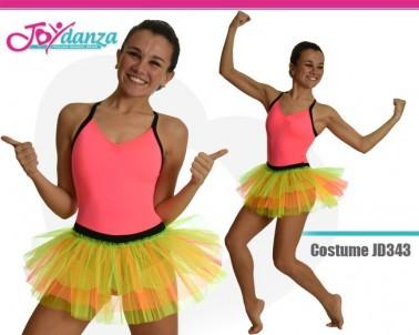 Costume Fluorescente Danza Moderna Costumi moderna e musical