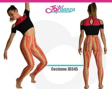 Top e Leggings Combinabili Danza Moderna Costumi moderna e musical