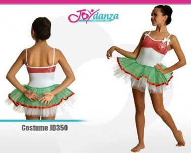 Costume Fragola Danza Moderna Costumi moderna e musical