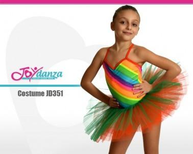 Tutu Arcobaleno Costumi Danza Classica Danza Moderna Costumi moderna e musical Tutu per bambina