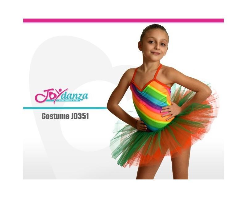 qualità superiore f61a0 ffdab Tutù Arcobaleno - Abbigliamento Danza Bambina - Joydanza.it