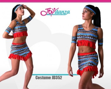 Costume Indiana Danza Moderna Costumi moderna e musical