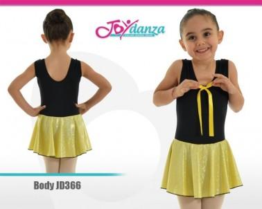 Body con gonna laminata Abbigliamento Danza Body danza bambina Danza Moderna Costumi moderna e musical