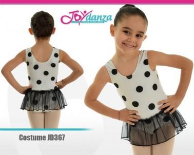 Body a pois Abbigliamento Danza Body danza bambina Danza Moderna Costumi moderna e musical