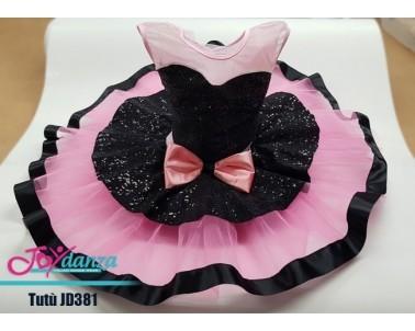 Rosa e nero Costumi Danza Classica Tutu per bambina Tutu Professionali