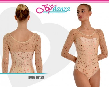Body rete e lycra grafato