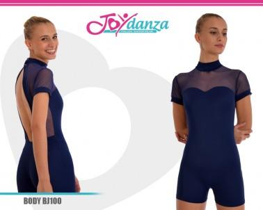 Body Pantaloncino con inserti in rete elastica