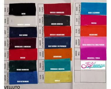 Velluto Classico Colori e Tessuti Elastici per corpo