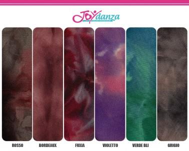 Lycra Fantasia Sfumata Colori e Tessuti Elastici per corpo