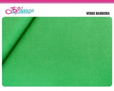 Lycra Samba Verde Tessuti per Body Danza