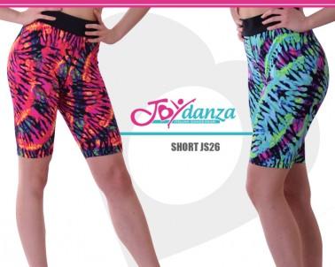 Tropical Shorts fucsia e azzurro