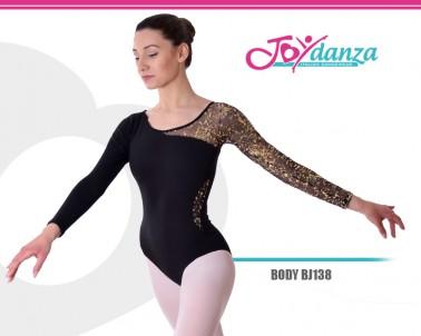 Body Con manica lunga Glitter