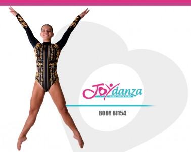 Body Danza con Disegno Stampato